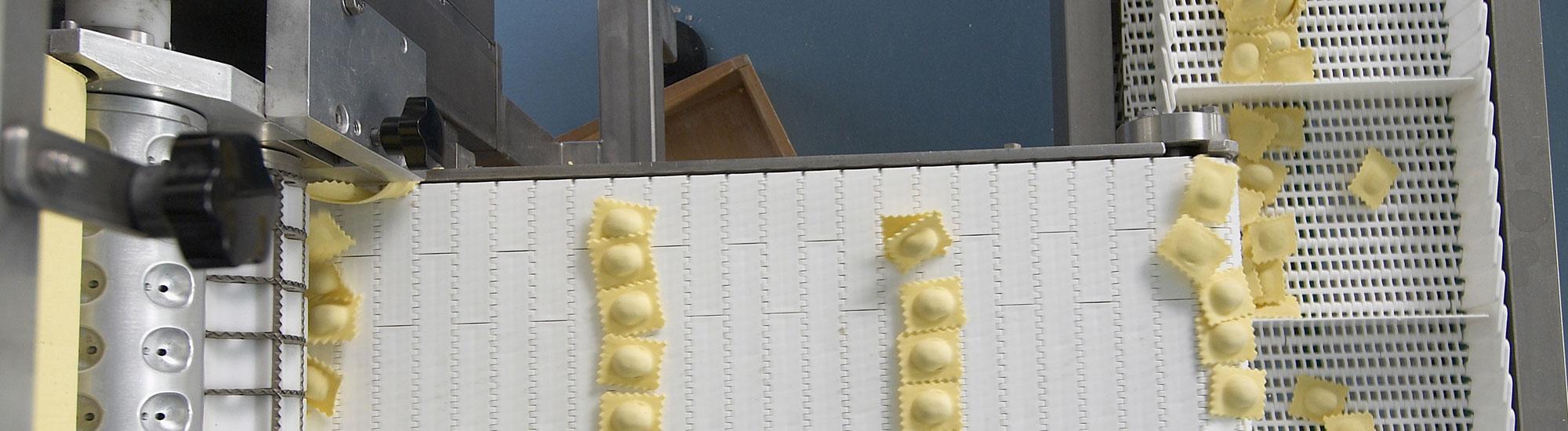 distribuzione di pasta fresca all'uovo