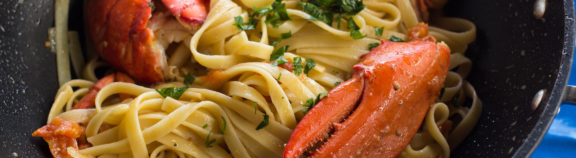 ricetta Tagliatelle all'astice con pasta fresca