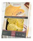 Medaglioni al Radicchio Rosso e Asiago DOP di pasta fresca