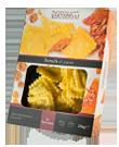Tortelli di zucca di pasta fresca
