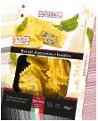 Ravioli al pecorino e basilico di pasta fresca