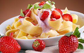 Pappardelle alle fragole
