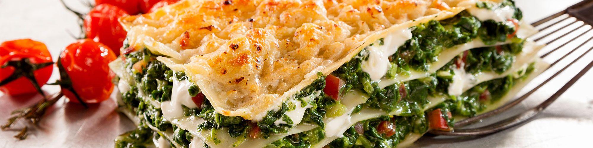 ricetta Lasagne con spinaci e pomodori secchi con pasta fresca