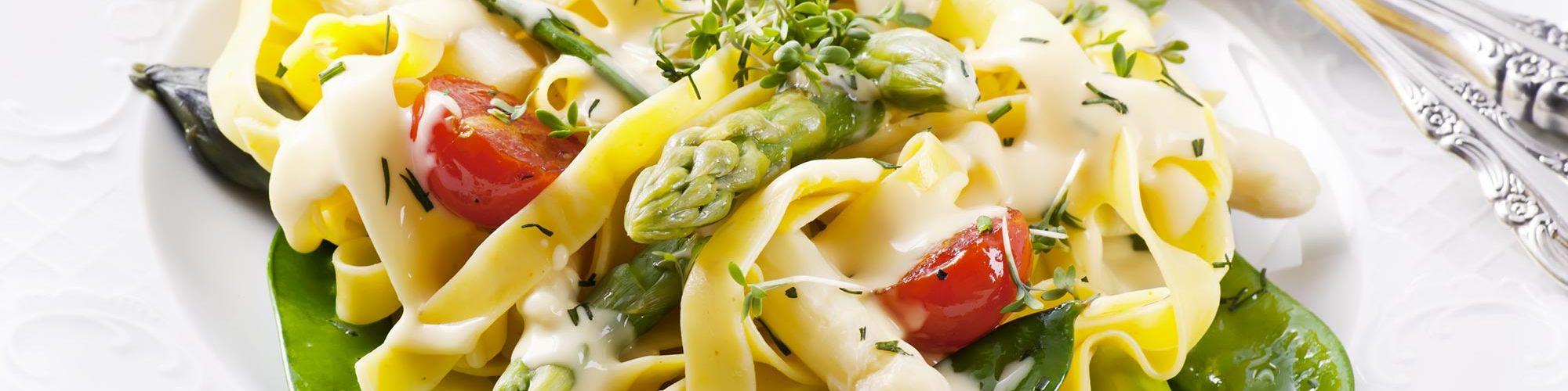 ricetta Tagliatelle dell'orto con pasta fresca